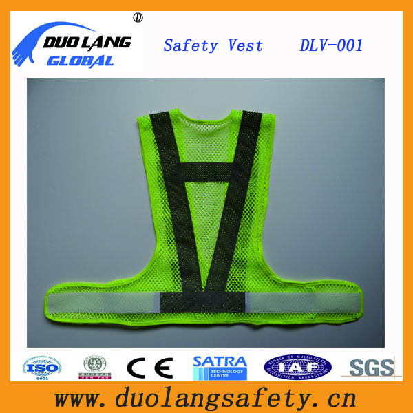 High Visibility Safety Reflective Security Apparel / Protective Garement