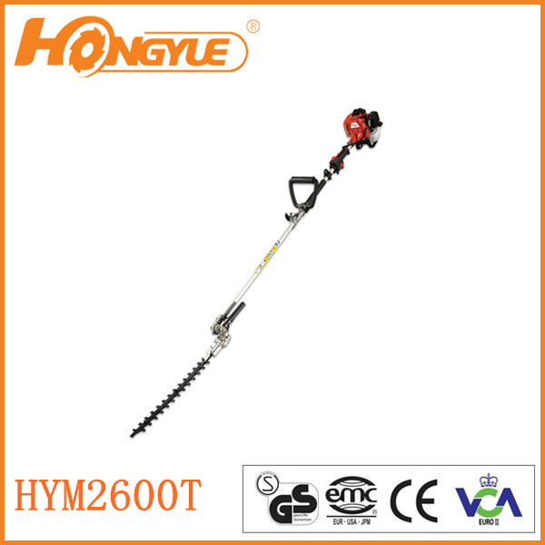 25.4CC long pole tree trimmer 2600 for extention for 28mm pipe in south America