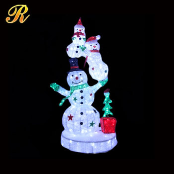 3d light up christmas snowman for outdoor decoration buy ight up 3d light up christmas snowman for outdoor decoration mozeypictures Choice Image