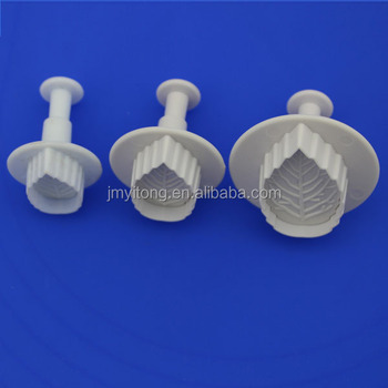 100% Food grade wholesale leaf shape cookie cutters/High quality plastic cookie cutter