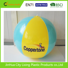 BSCI factory Inflatable Advertising Logo Printed Beach Ball Promotion Clear PVC Inflatable Beach Ball,Small PVC Beach Ball