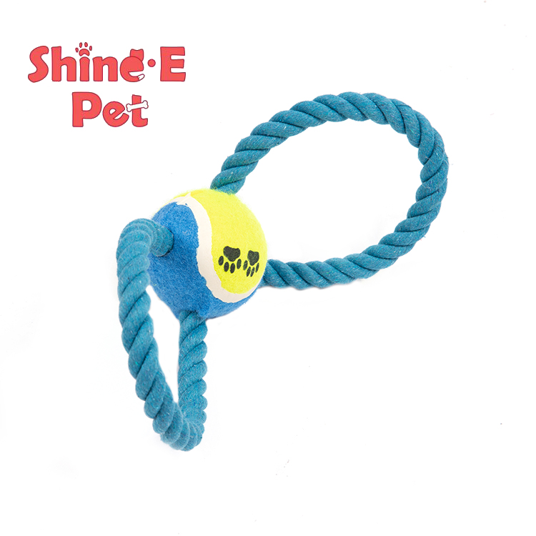 Customized Hot Sell Durable Dog Chew Rope Ball Toy Pet Chewing Toys