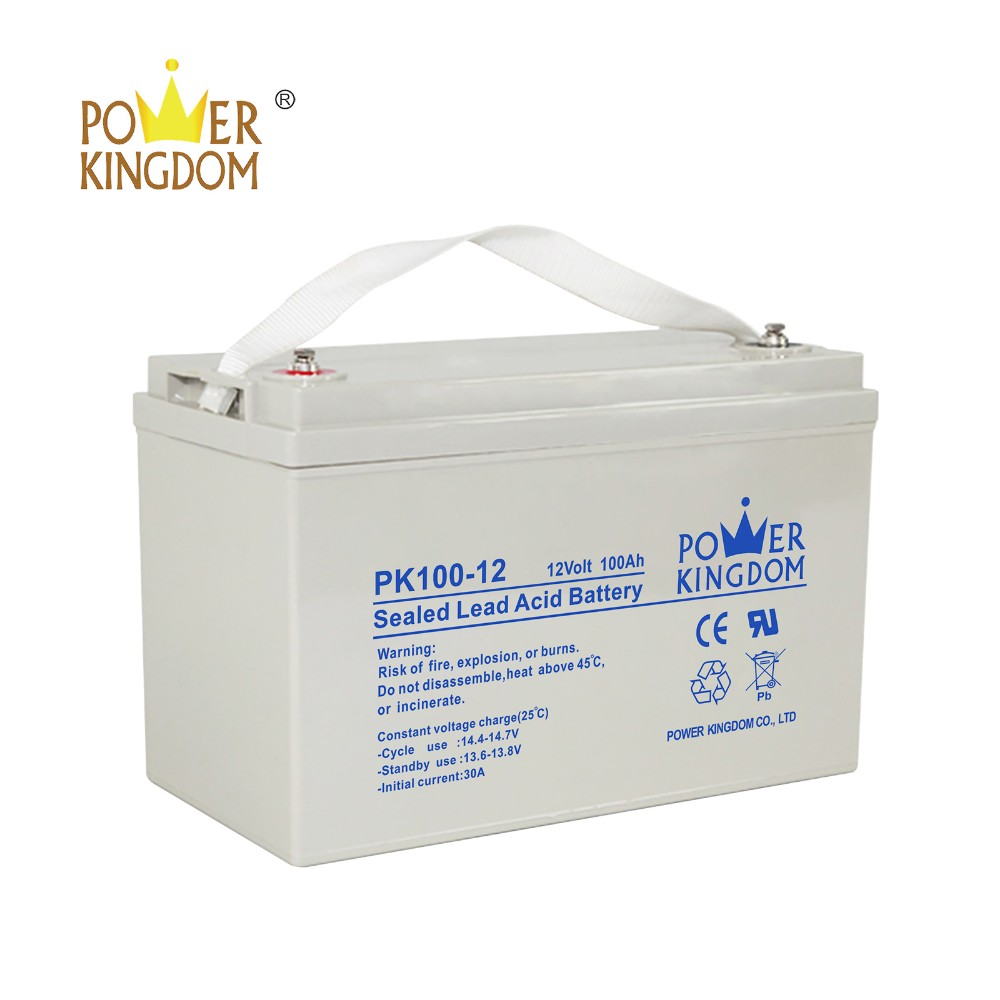 Power Kingdom absorbed glass mat marine battery order now Power tools
