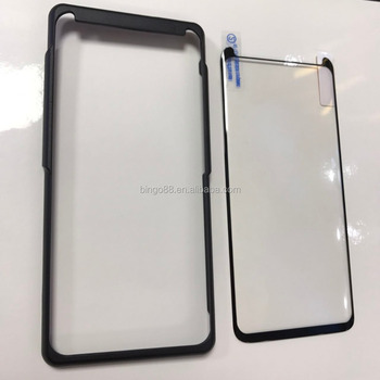 Tempered Glass 3d Full Glue Covered Screen Protector Premium Asahi Glass 3d  Curved Full Cover Film For S8 Plus Note 8 - Buy Tempered Glass Glue