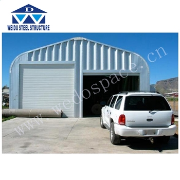 Portable Steel Prefab Car Garage For Two Car Parking For ...