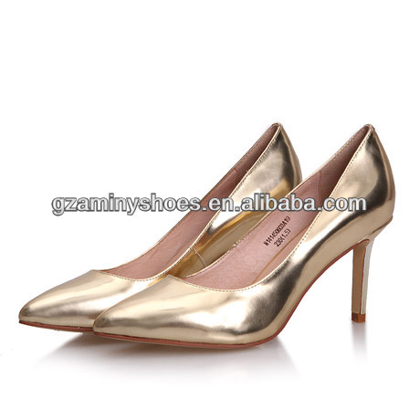 metallic shoes leather women 2014 shoes qxIdUq1