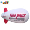 Giant inflatable airship dirigible with logo inflatable helium blimp