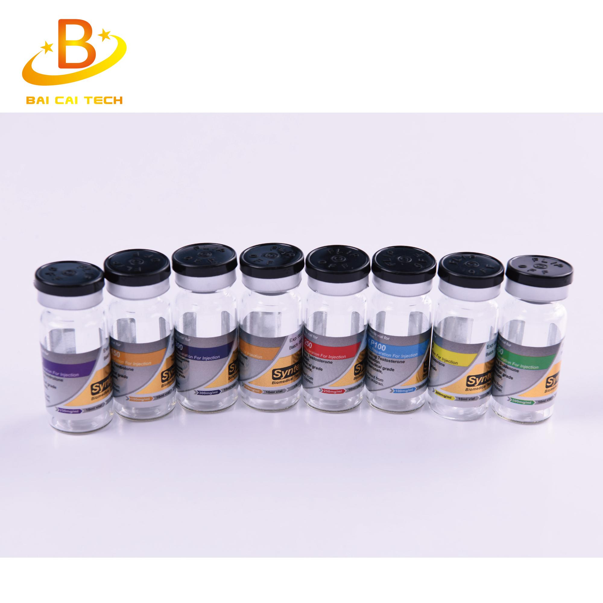 Professional custom antifake silver gold foil laser hologram 1ml 3ml 5ml 20ml 30ml 2ml 10ml vial labels