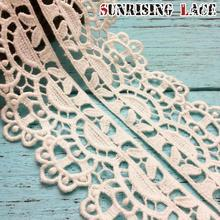 Cotton Bridal Africa Turkish Tape Lace For Wedding Dress