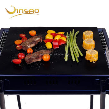 Best Bbq Grill Mat And Kabob Skewer Set From Searious Chef - Buy Fireproof  Charcoal Bbq Grill Mat,Non-stick Bbq Cooking Mat,Charcoal Grill Mat Product