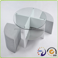 New design european style modern round shape coffee table modern tea table design