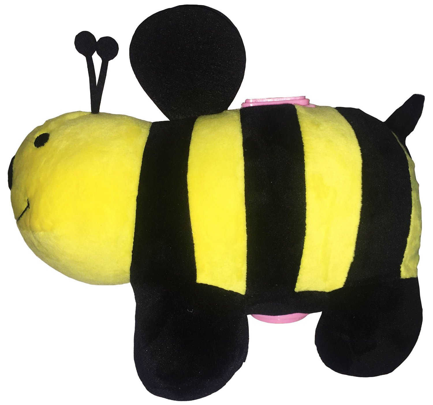 Large Plush Coin Bank by Jungle Class (Bumble Bee) - Piggy Bank for Kids - Animal Toy Bank - Stuffed and Soft Savings Starter - A Cute Toy Coin Collector for Boys and Girls - Other Styles Available