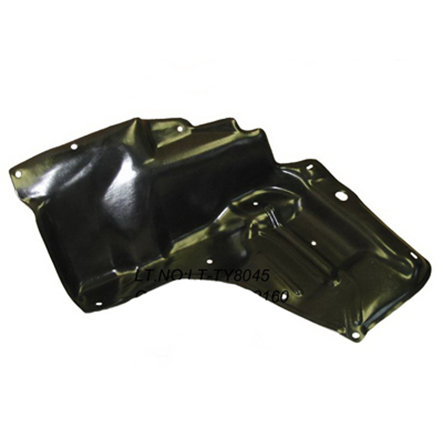 Crash Parts Plus PTM TO1228156 Left Lower Engine Cover for 03-08 Toyota Corolla, Matrix