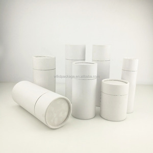 CMYK printing OEM design white round paper box packaging with great sizes