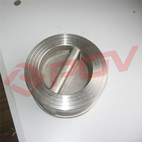 wafer type 316 stainless steel food grade swing check valve price