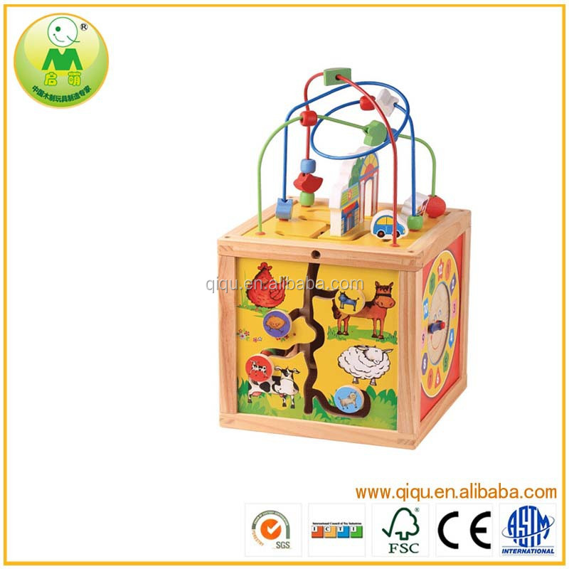Multi-functions Foreign Trade Maze Childrens Wooden Toys