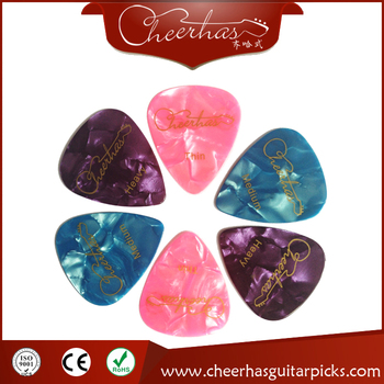 Mix Colors Guitar Picks Thin-Heavy Thickness Custom Celluloid Guitar Picks
