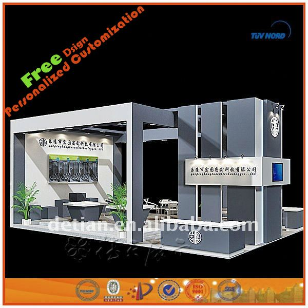 New hot sale product with high quality modular cosmetic exhibition stand