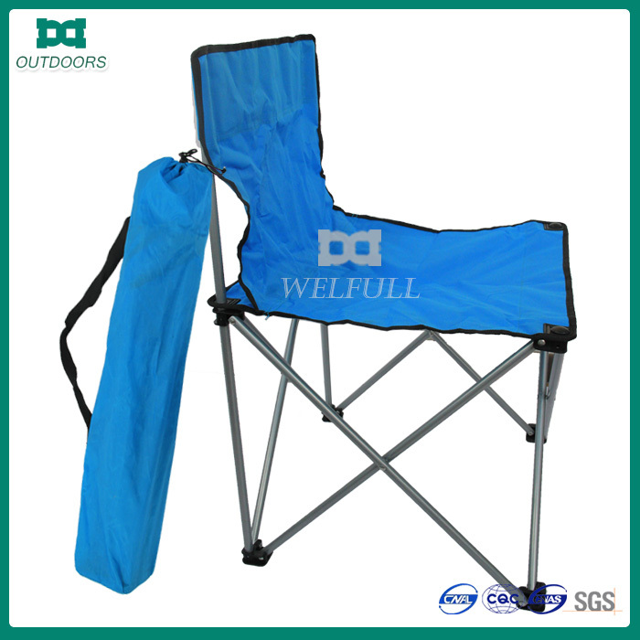 Portable fishing armless camping beach chair storage bag
