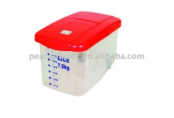 75kg Rice Storage BoxPet Food Storage ContainerPlastic Ocntainer