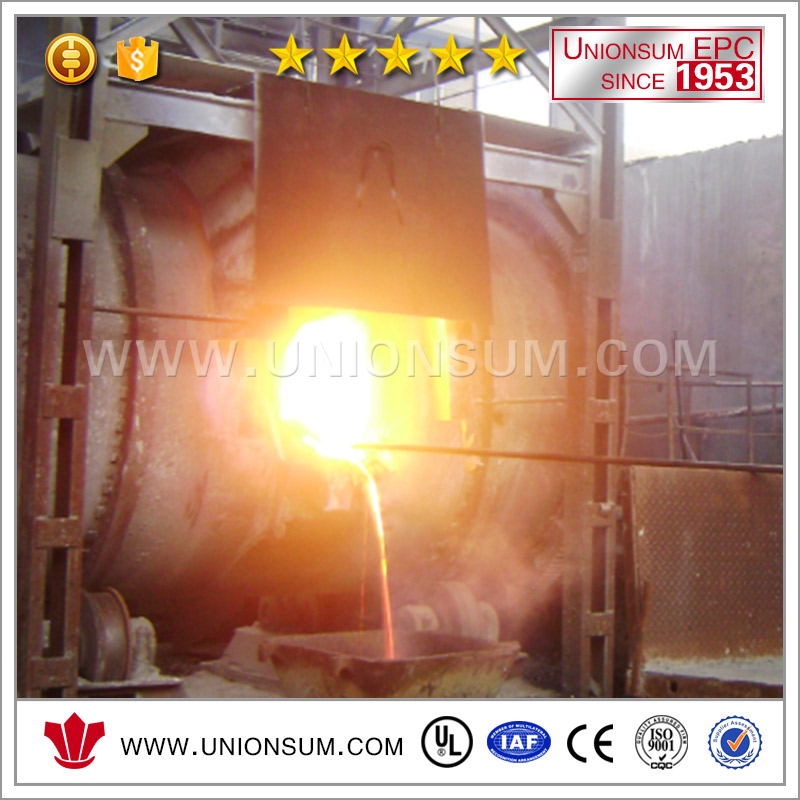 Copper Scraps Recycle System Anode Casting