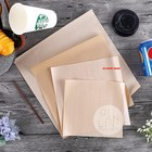Custom Made Brown Kraft Fast Food Wrapping Paper with Logo Printing