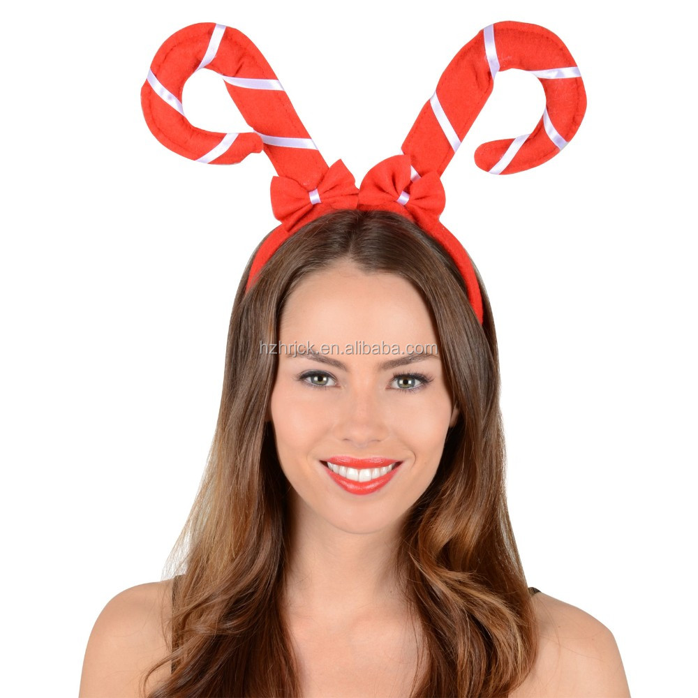 Christmas Head Hoop Santa Claus Modelling Hair Band Marchri Party Plastic Accessories Cheap