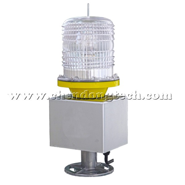 Helipad beacon with 15w power consumption aluminum used Xenon tube for long life span heliport lights