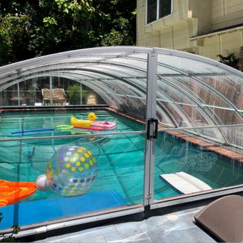 New Telescopic Aluminium Swimming Pool Walls Covers / Aluminium Swimming  Poll Roof - Buy Cover Aluminium Pool Telescopic,Aluminum Pool Walls ...