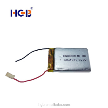 Phone/bluetooth Camera Battery Hgb 903046 1350mah 3 7v 3c Rechargeable  Lithium Ion Battery - Buy Phone Battery,Lithium Ion Battery 3 7v,3 7v  450mah