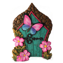 Miniature Butterfly Fairy Door for the Garden Fairies and Gnomes Accessory