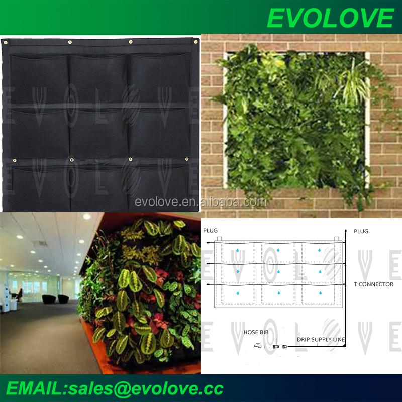 Sistema de riego para huerto vertical maceteros para for Sistema de riego jardin vertical