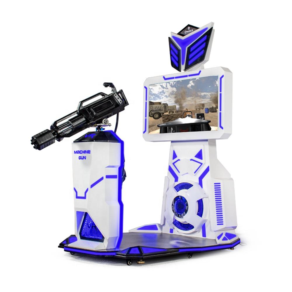 840b50ff58c5 Amusement Facilities 9d Vr Game Machine Laser Gatling Gun Shooting Simulator