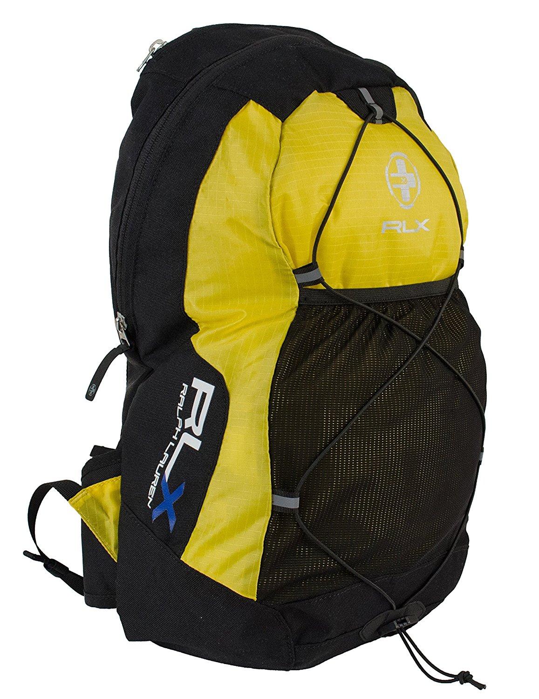 fb433c3c450 Get Quotations · Ralph Lauren RLX Men s Nylon Trek BackPack (Univ Yellow,  One Size)