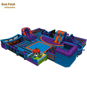 Inflatable Playground Children Play Theme Bounce Park for Children and adult