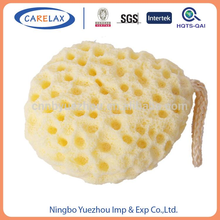 high quality skin care mix color bath sponge net