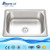 Stainless steel mini single bowl kitchen sink prices in india sink with cock DS4841