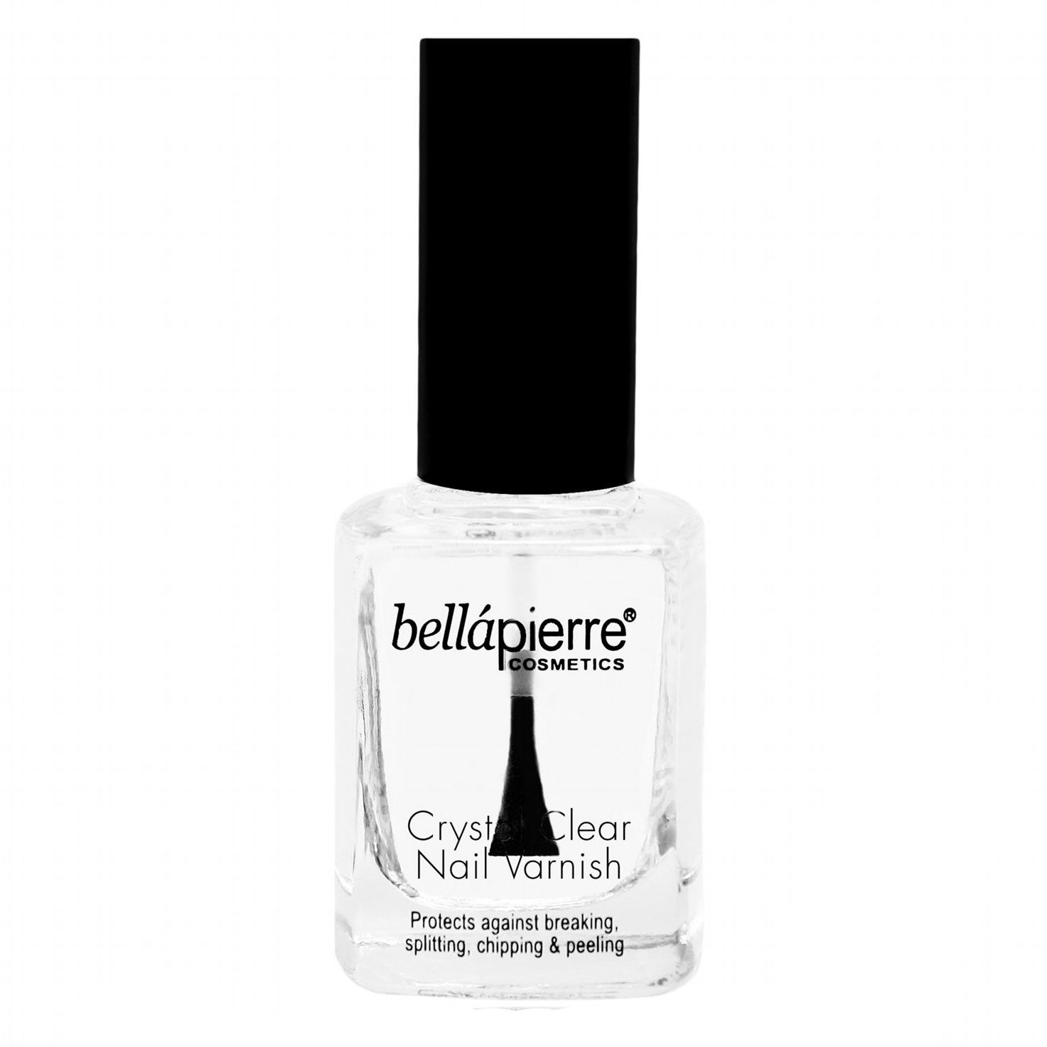 Bella Pierre Clear Nail Polish, 0.5-Fluid Ounce, Pack Of 2