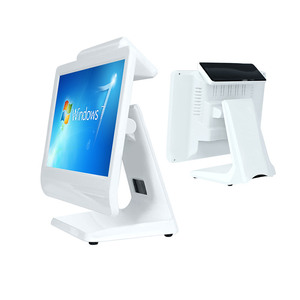BVS 15.6 inch Windows7 True Flat Touch Screen All In One Cash Register/POS Terminal/POS System