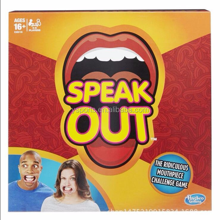 Hot sales Speak Out Game Best Selling Board Game Interesting Party Game Wholesale