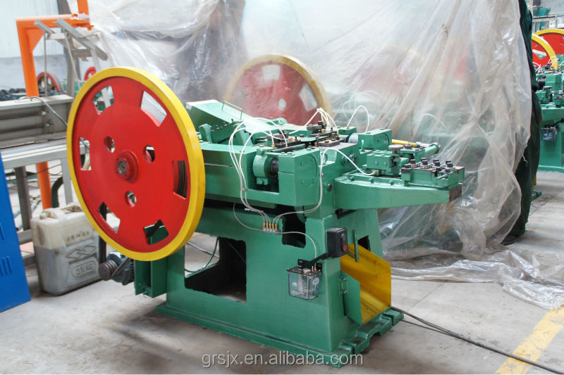 factory design high speed low noise 5-10cm length Wire Nail Making Machine