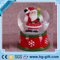 Excellent quality xmas decoration christmas snow globe, inflatable snow ball with snow