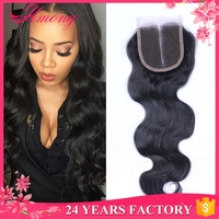 Factory Direct Sale Cheap Free Part Middle Part 3 Part Closures Lace