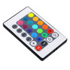 Infrared mini 24keys RGB led strip controller sound music IR remote LED controller