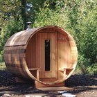 Sauna Sauna Outdoor Outdoor Barrel Sauna