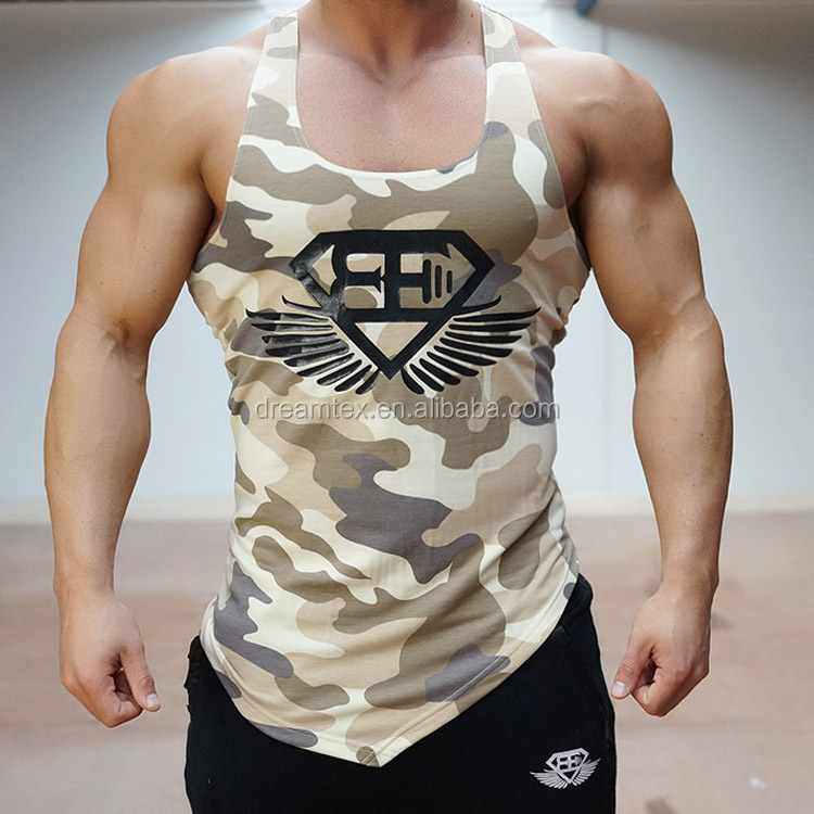 Good quality wholesale trainning gym tank body building mens tank top men gym vest