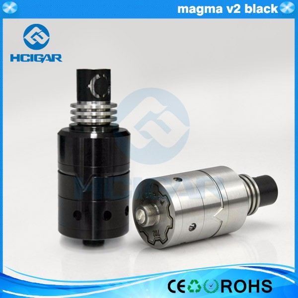HCigar black magma v2 clone Vengeance rda and decorative pattern e cig