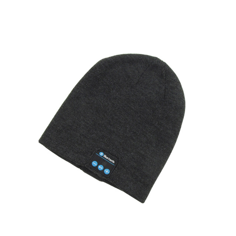 2019 neue Mode Beanie Hut Kappe Drahtlose Bluetooth Kopfhörer Smart Headset Lautsprecher Mic Winter Outdoor Sport Stereo Musik Hut