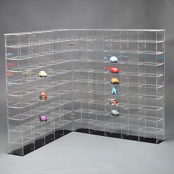 Transparent Acrylic Toy Display Shelf & Car Model Large Size ...