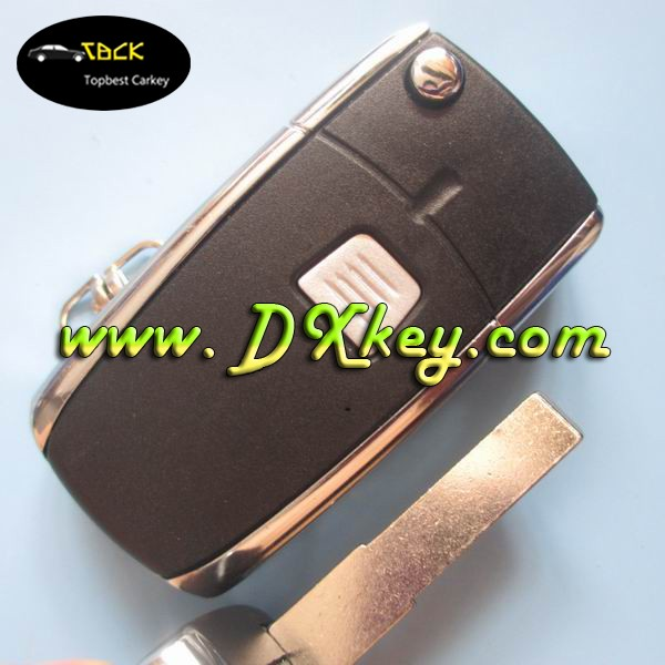 Shock price 1 button universal flip key remote case SIP22 key blade for key Fiat Fiat key cover